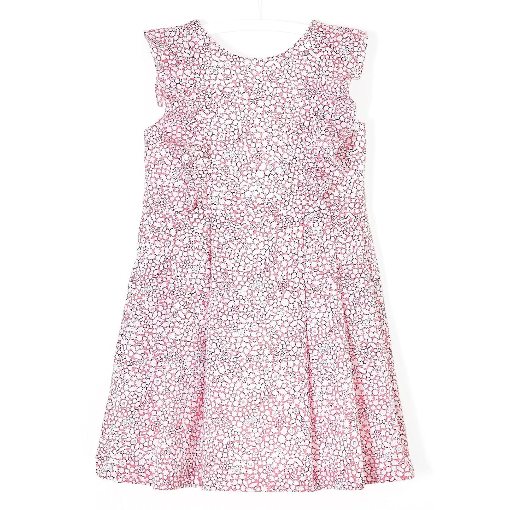 پیراهن نخی روزمره دخترانه Licorne - جاکادی