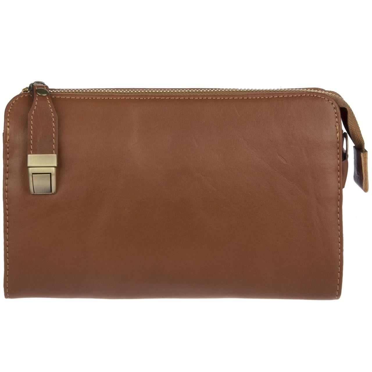 کیف دستی چرم طبیعی گالری ماندگار