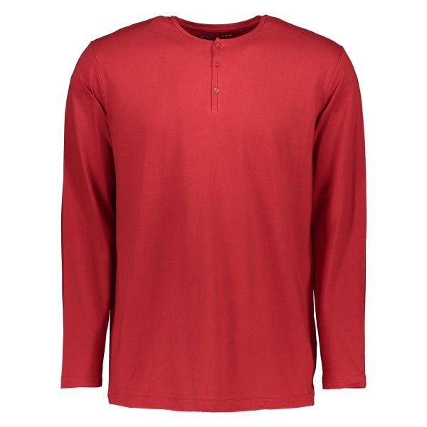 تی شرت نخی یقه گرد مردانه - رامکات