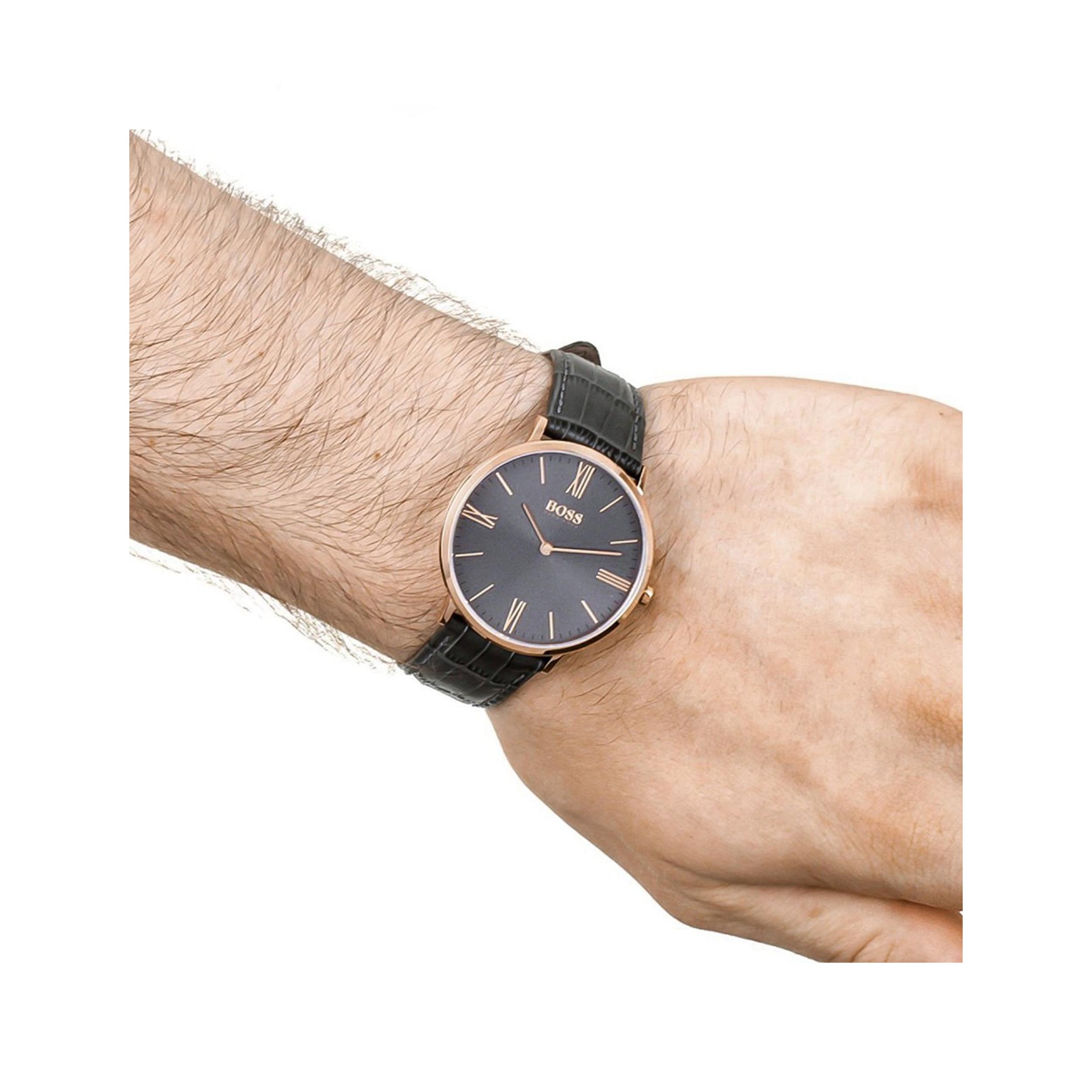 ساعت مچی عقربه ای مردانه هوگو باس مدل 1513372