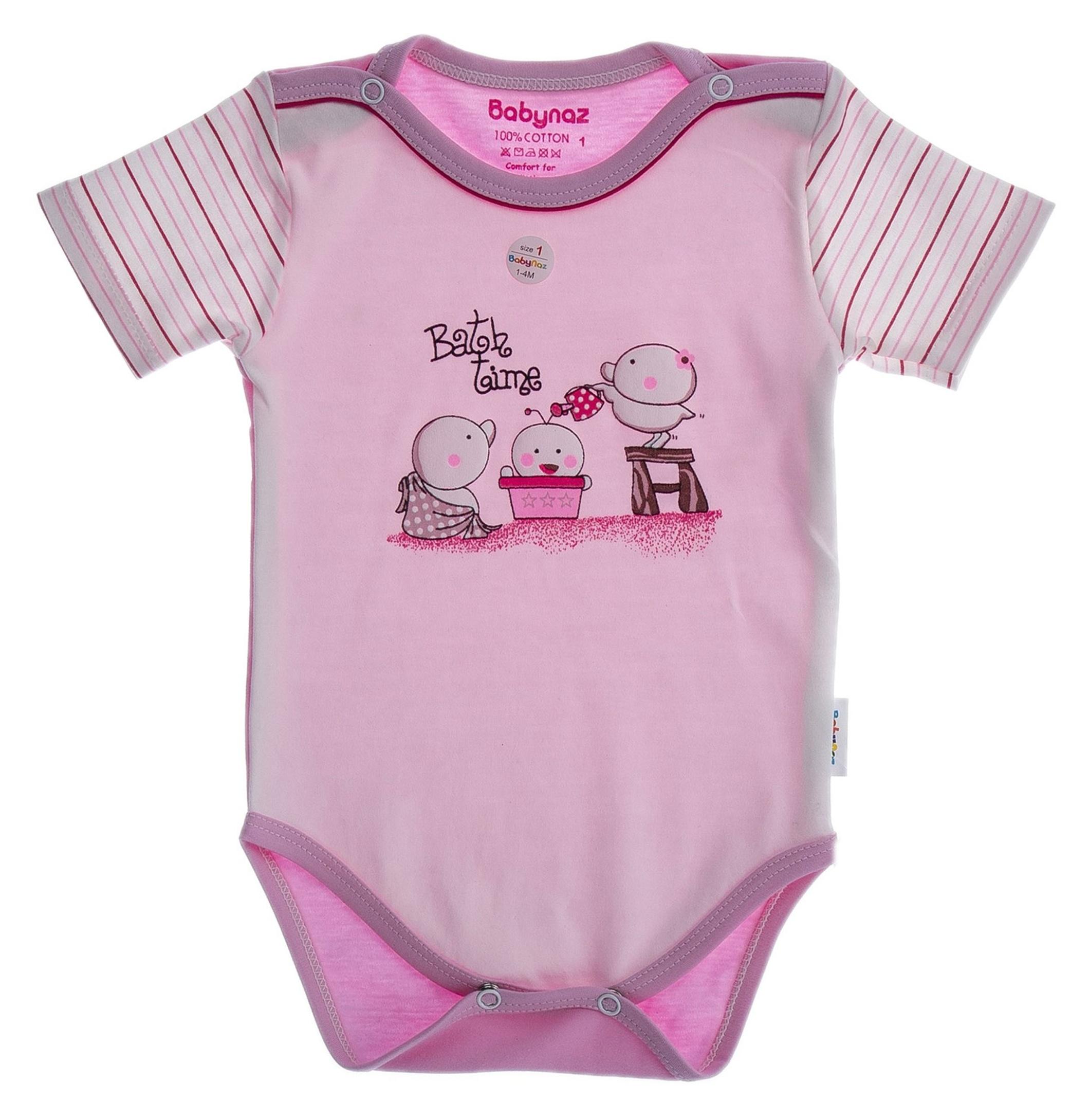 بادی نخی ساده نوزادی دخترانه - بی بی ناز