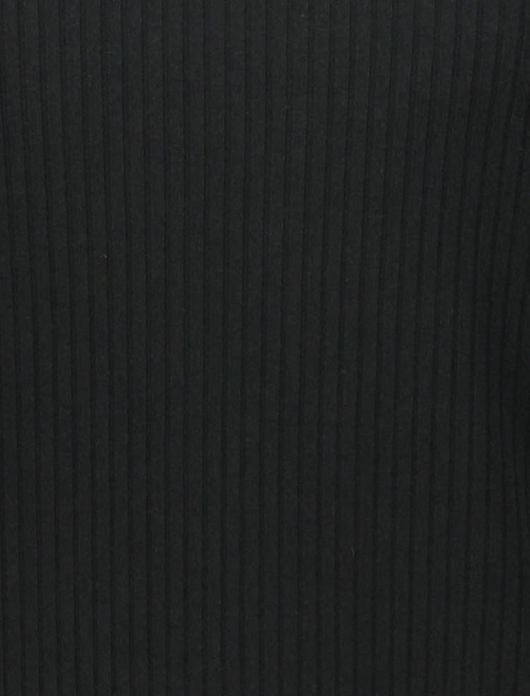 تی شرت یقه گرد زنانه - مانگو - مشکي - 7
