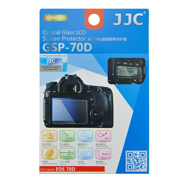 محافظ صفحه نمایش دوربین جی جی سی مدل GSP-70D مناسب برای دوربین کانن 90D/70D/80D مجموعه 3 عددی
