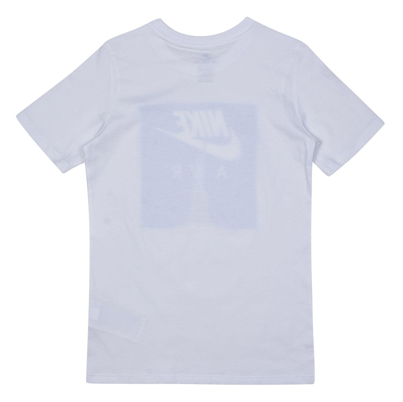 تی شرت ورزشی آستین کوتاه پسرانه Air Liberty - نایکی - سفيد - 6