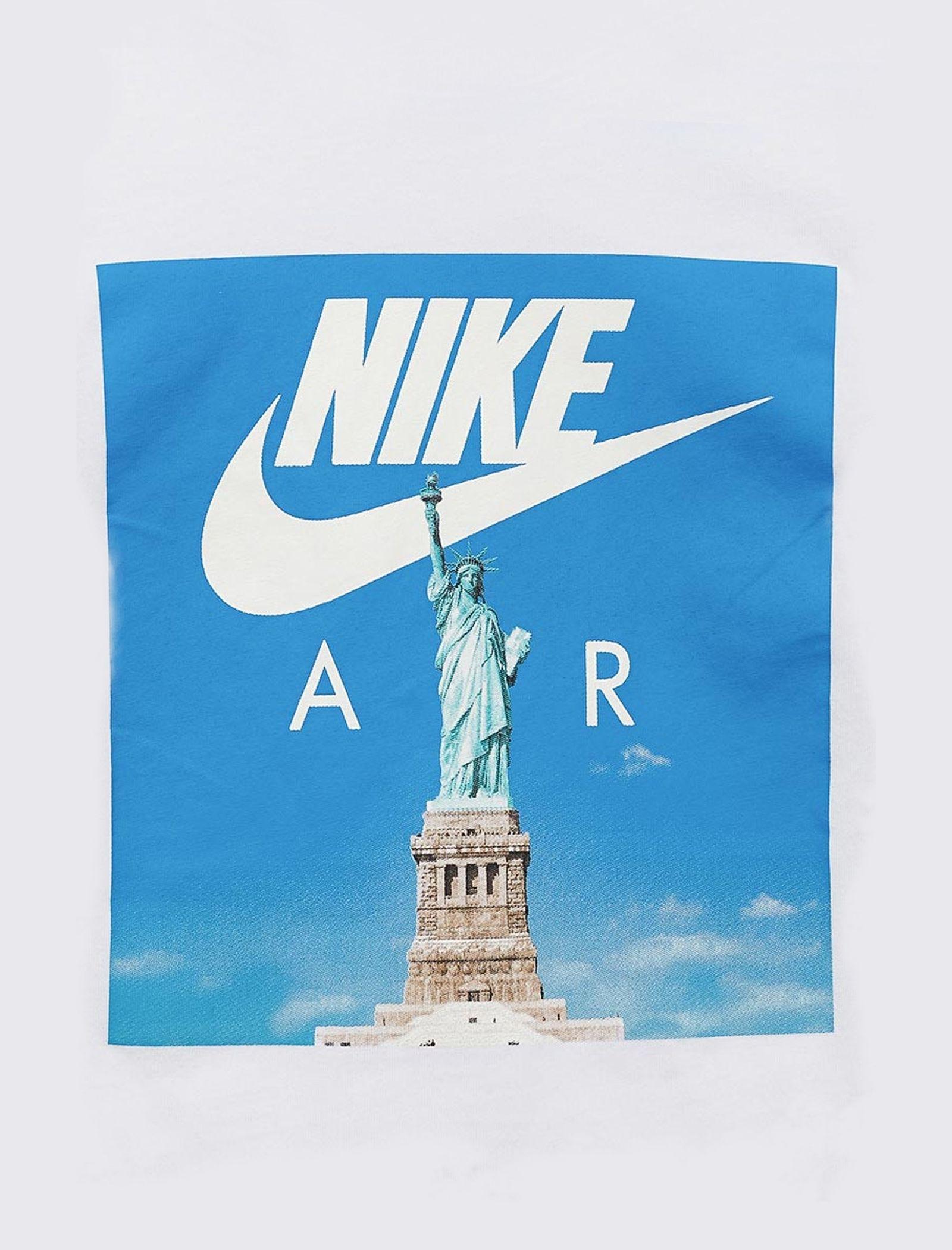 تی شرت ورزشی آستین کوتاه پسرانه Air Liberty - نایکی - سفيد - 7