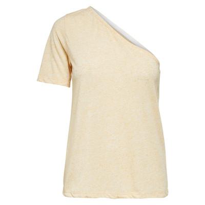 تصویر تی شرت یقه رومی زنانه – سلکتد