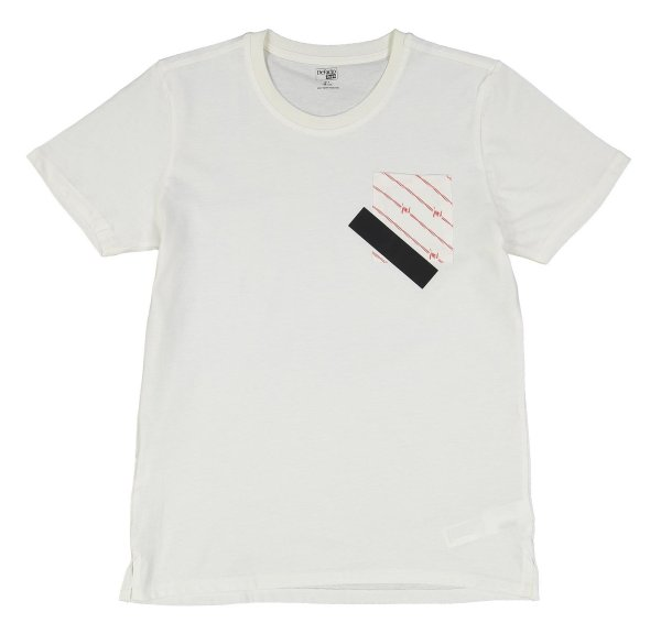 تی شرت نخی یقه گرد پسرانه - دفکتو