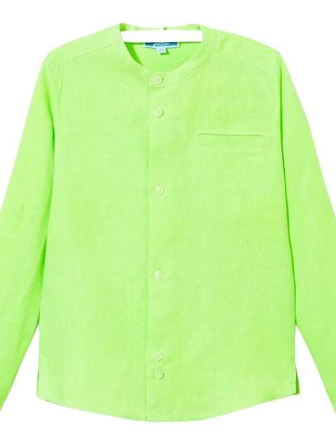 پیراهن کتان آستین بلند پسرانه Eclipsebis - جاکادی