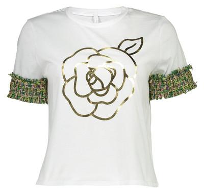 Photo of تی شرت نخی یقه گرد زنانه – امپریال