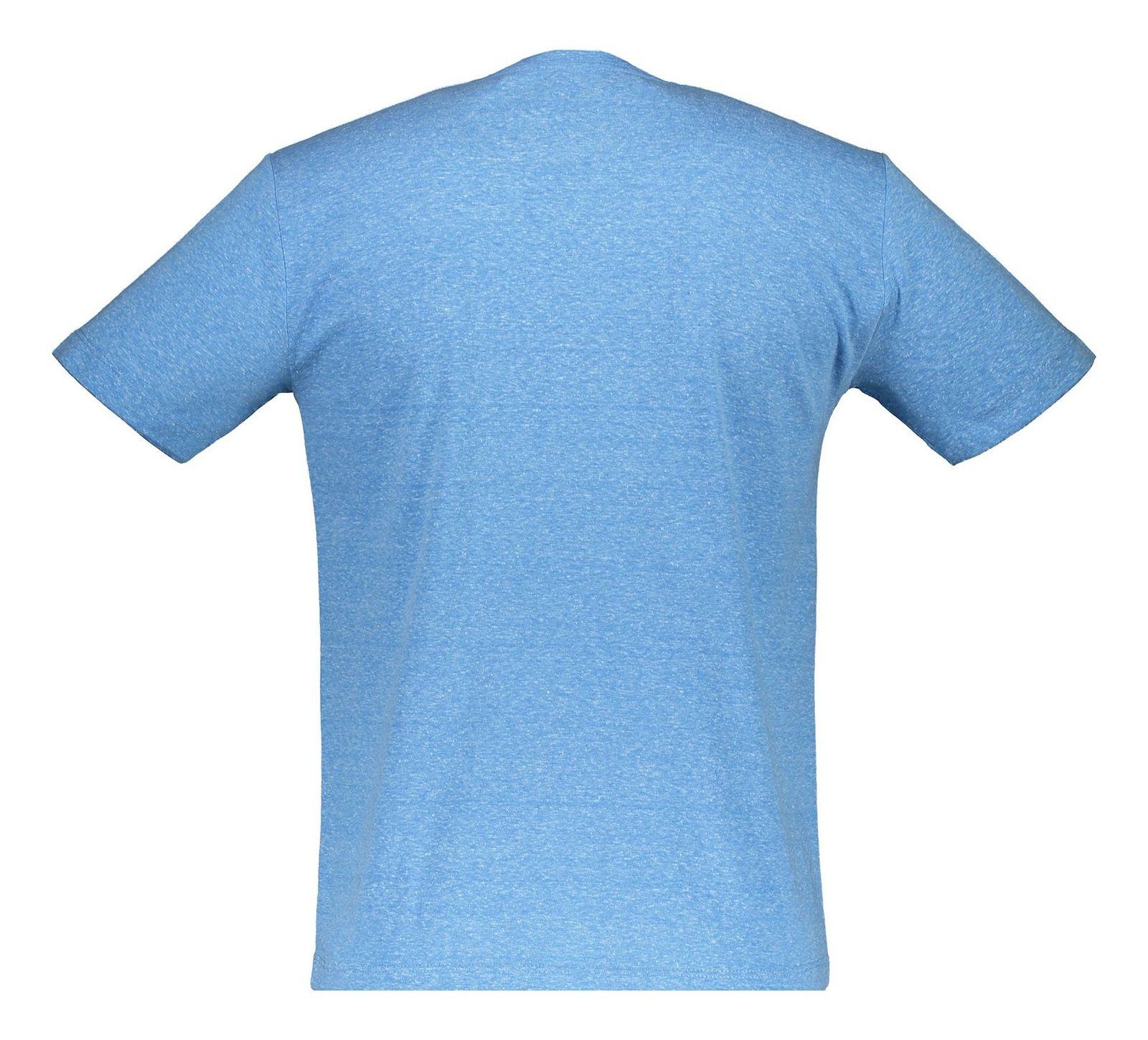 تی شرت یقه گرد مردانه - متی - آبي - 2