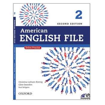 کتاب AMERICAN ENGLISH FILE 2 اثر جمعی از نویسندگان  انتشارات رهنما