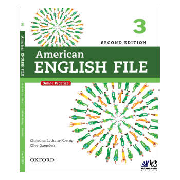 کتاب AMERICAN ENGLISH FILE 3 اثر CHRISTINA LATHAM KOENIG AND CLIVE OXENDEN  انتشارات رهنما