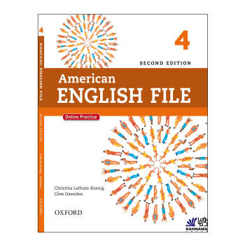 کتاب AMERICAN ENGLISH FILE 4 اثر CHRISTINA LATHAM KOENIG AND CLIVE OXENDEN  انتشارات رهنما