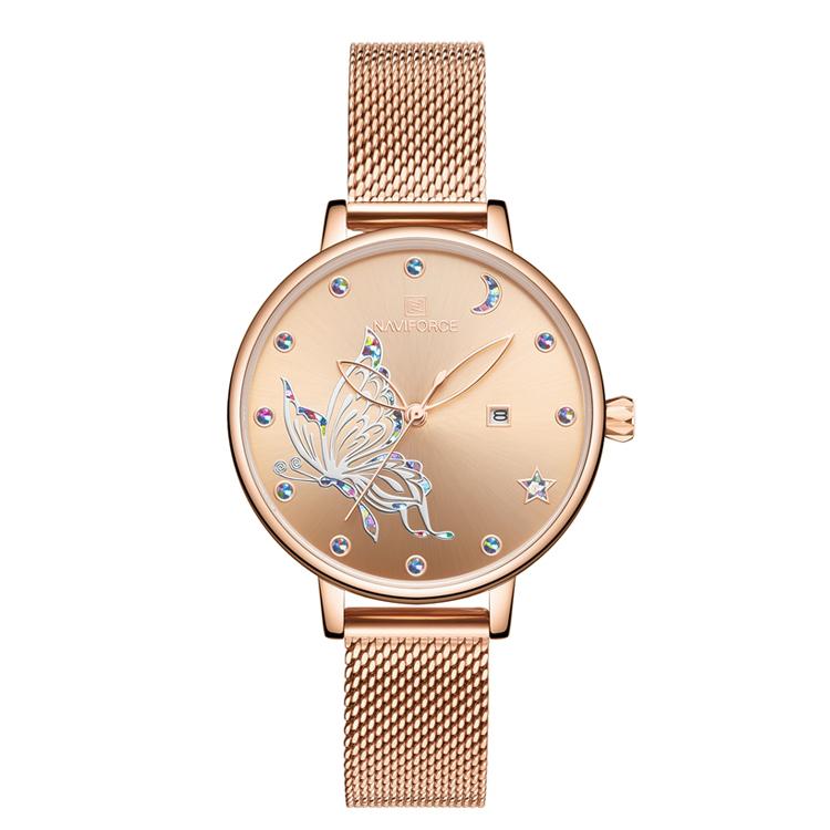 ساعت مچی عقربه ای زنانه نیوی فورس مدل NF5011L              خرید (⭐️⭐️⭐️)