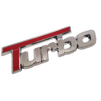 آرم خودرو طرح TURBO مدل dan637