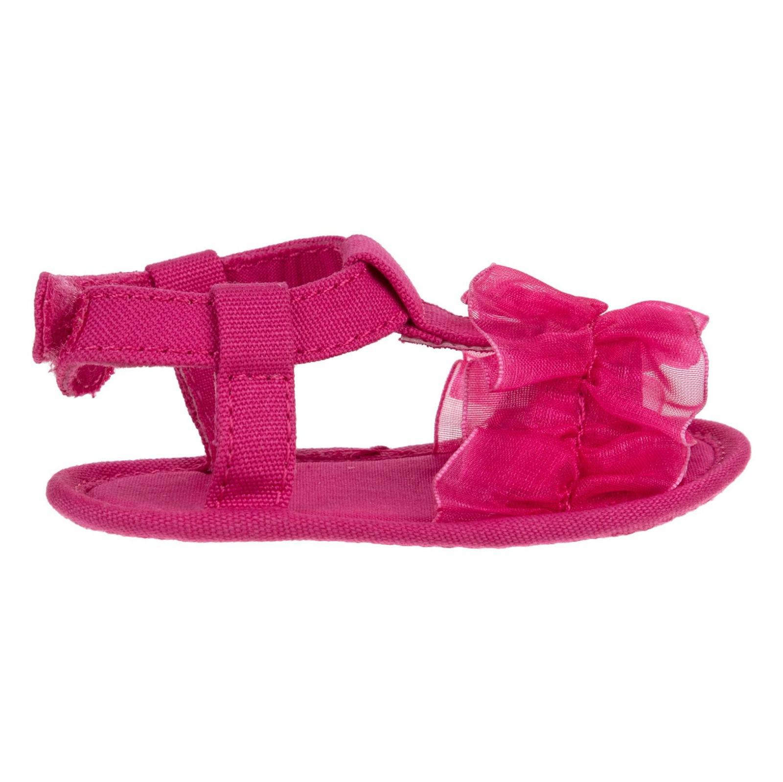 کفش چسبی نوزادی دخترانه - بلوکیدز - صورتی - 1