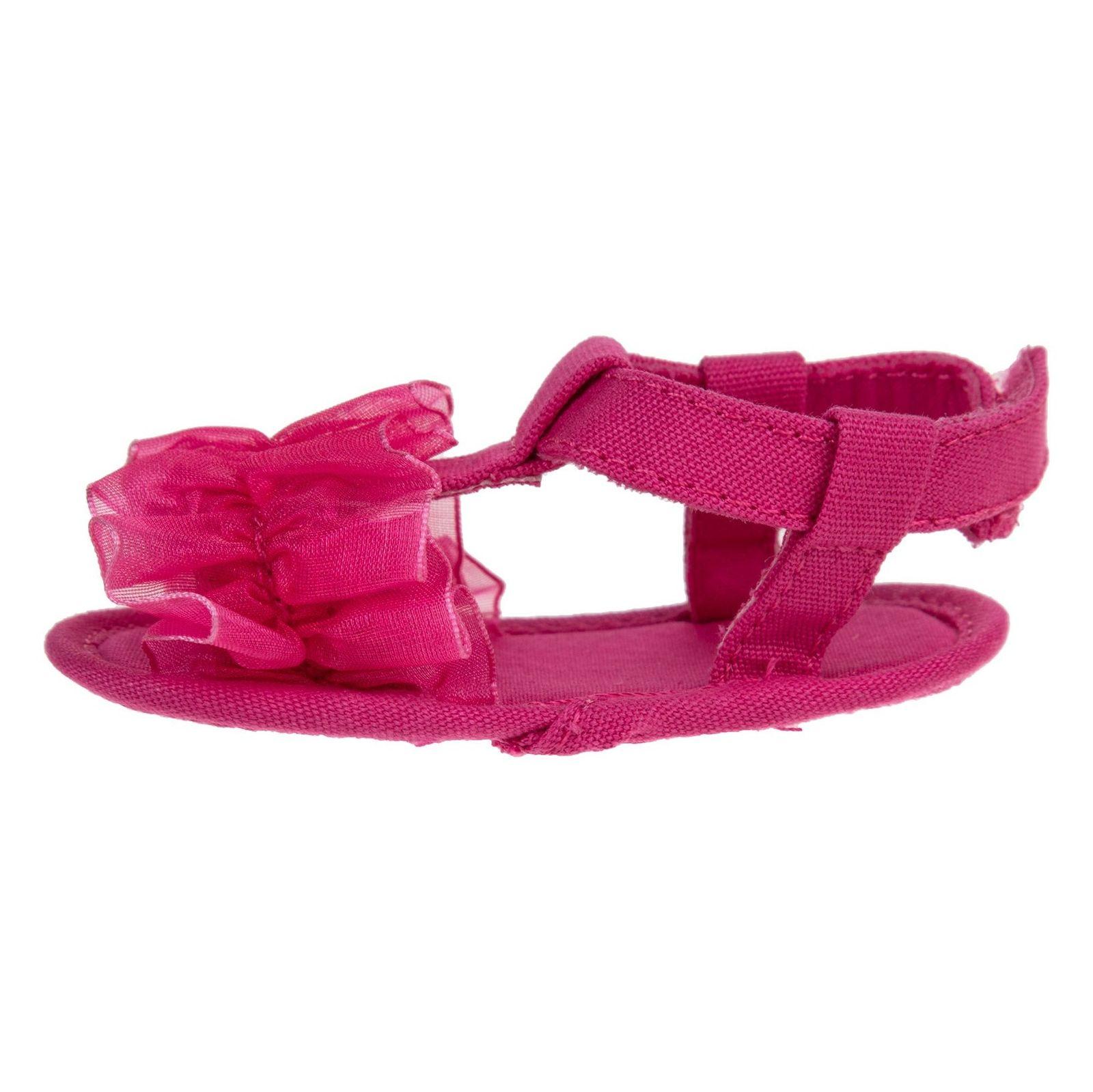 کفش چسبی نوزادی دخترانه - بلوکیدز - صورتی - 2