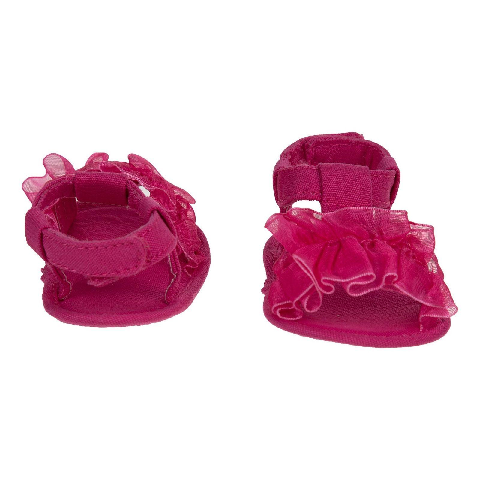 کفش چسبی نوزادی دخترانه - بلوکیدز - صورتی - 5