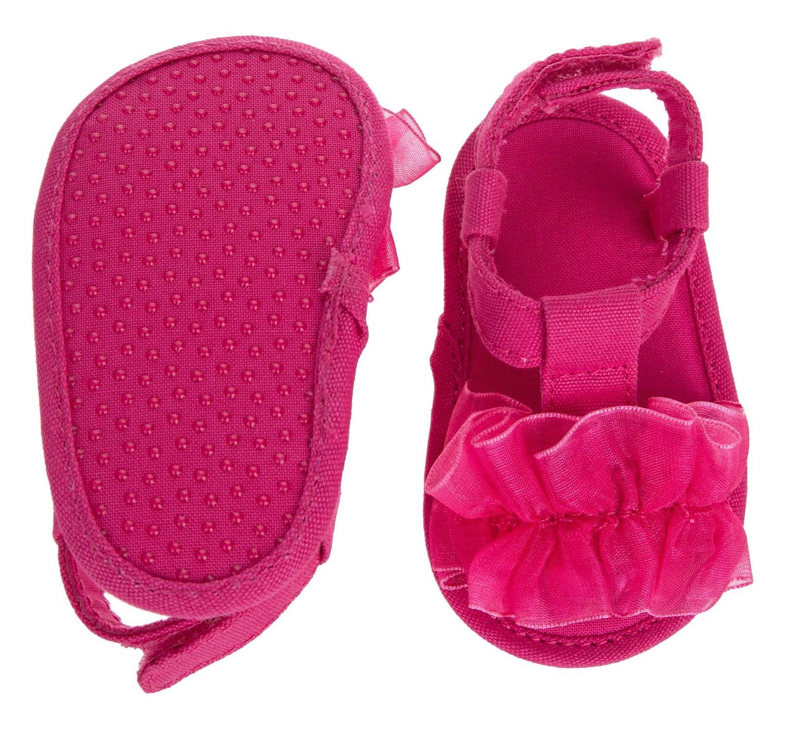 کفش چسبی نوزادی دخترانه - بلوکیدز - صورتی - 6