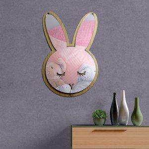 آینه فیلی طرح خرگوش کد PG007