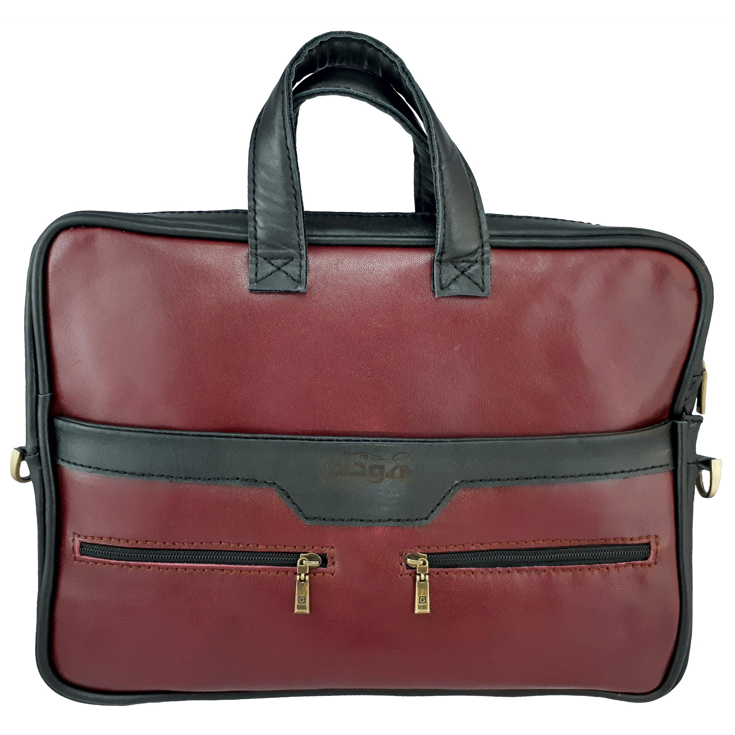 کیف چرمی هوداد چرم مدل BAD001