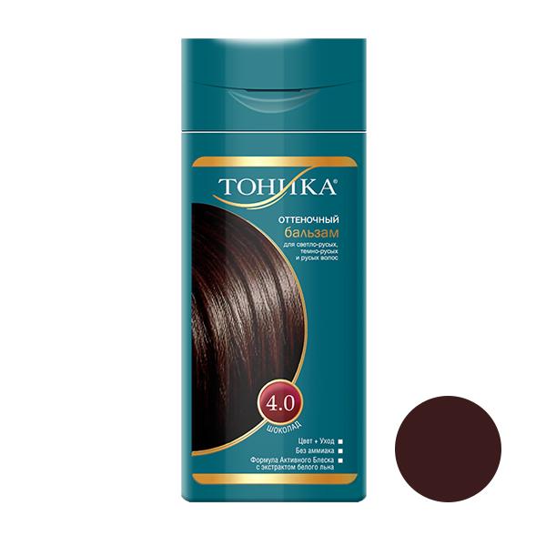 شامپو رنگ مو تونیکا شماره 4.0 حجم 150 میلی لیتر رنگ شکلاتی