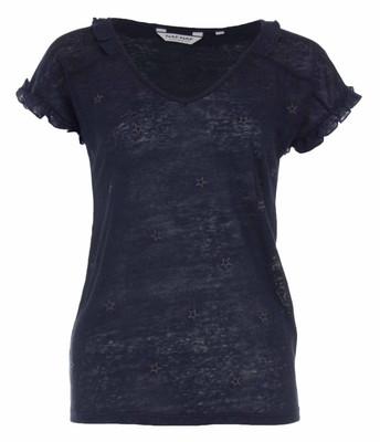 تصویر تی شرت یقه هفت زنانه – نف نف