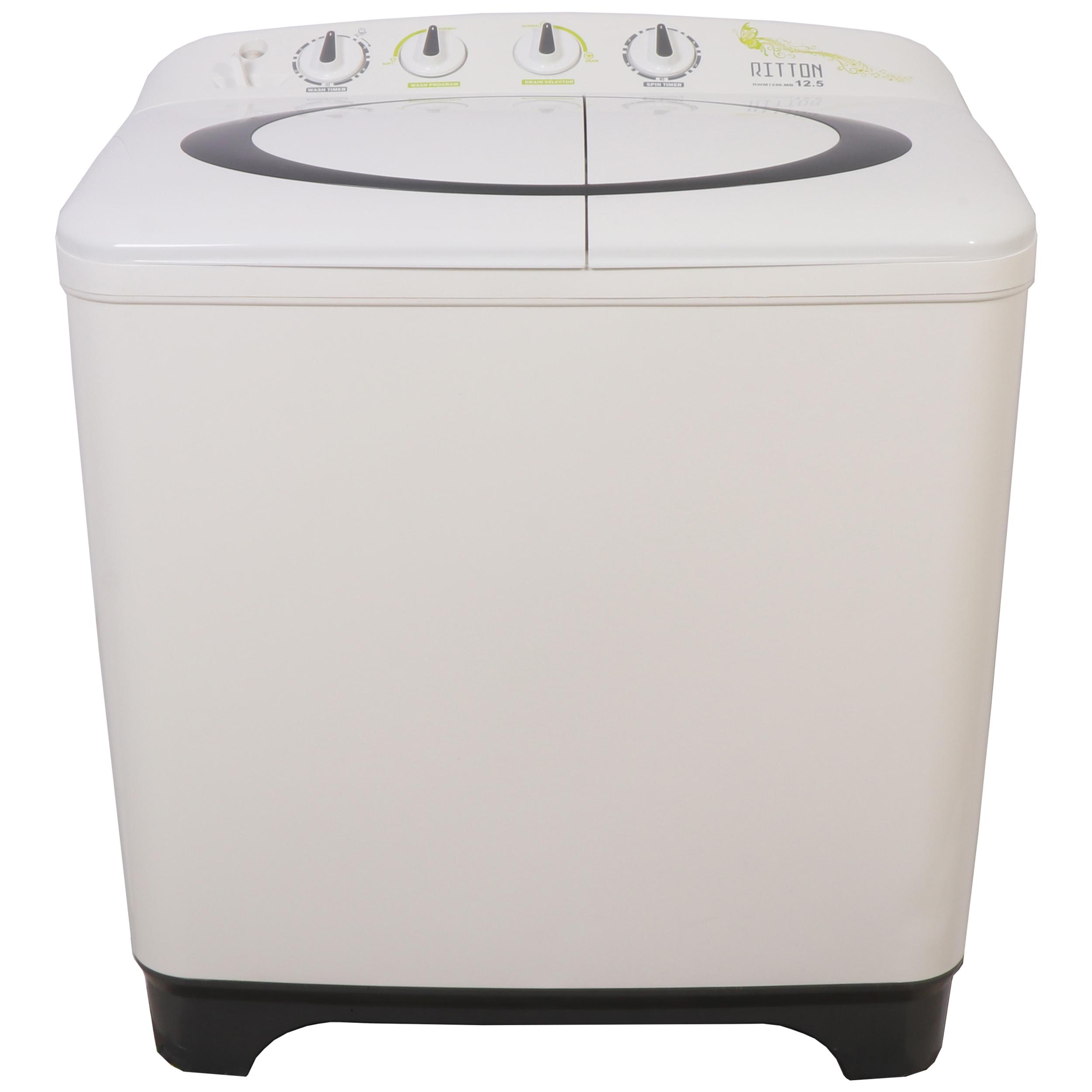 ماشین لباسشویی  ریتون مدل RWM 1250.MB ظرفیت 12.5 کیلوگرم