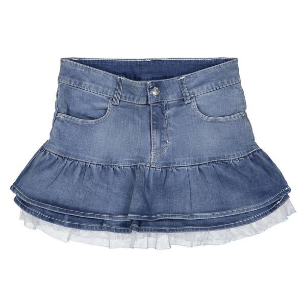 دامن جین کوتاه دخترانه - ایدکس