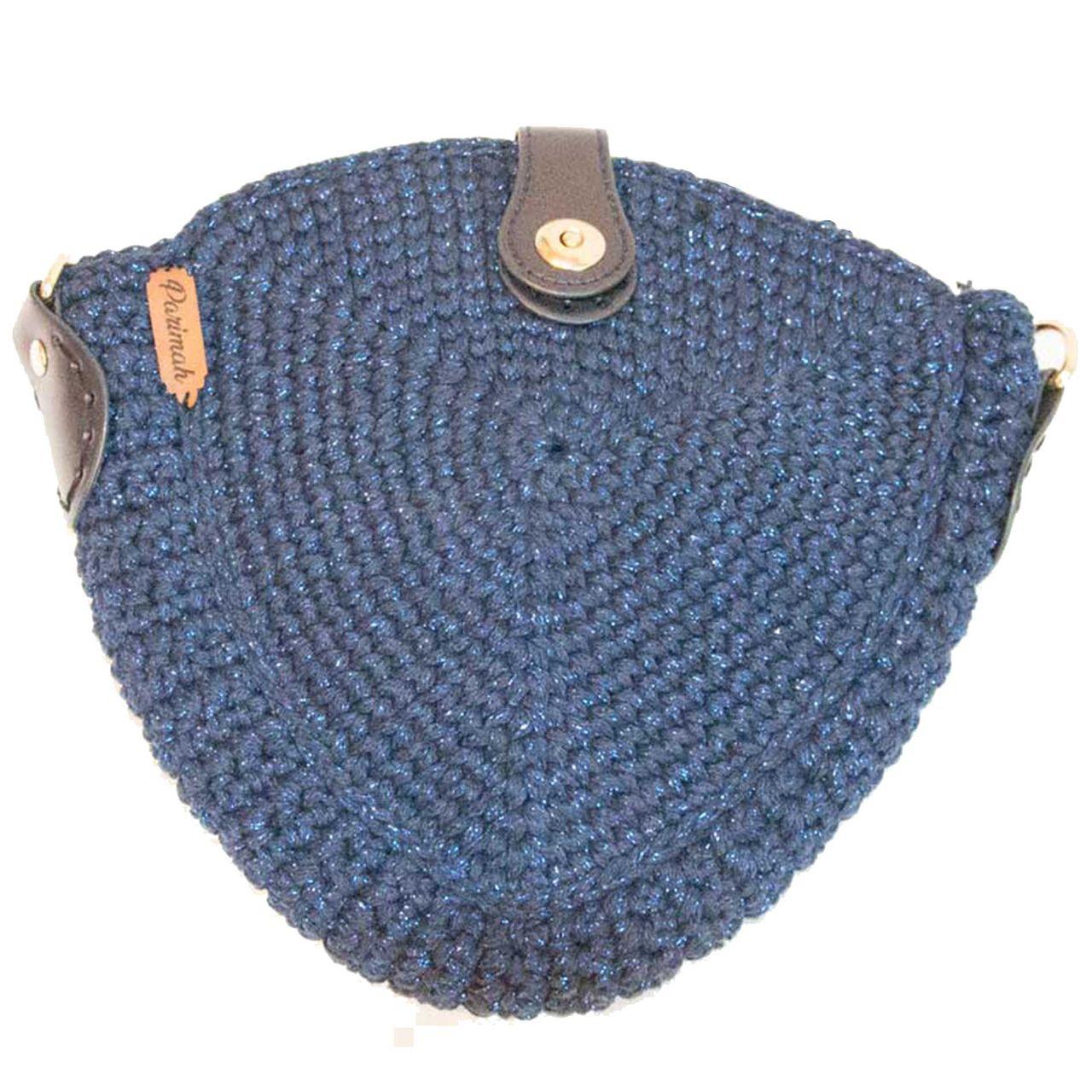 کیف بافتنی پریماه مدل مثلثی کد B20