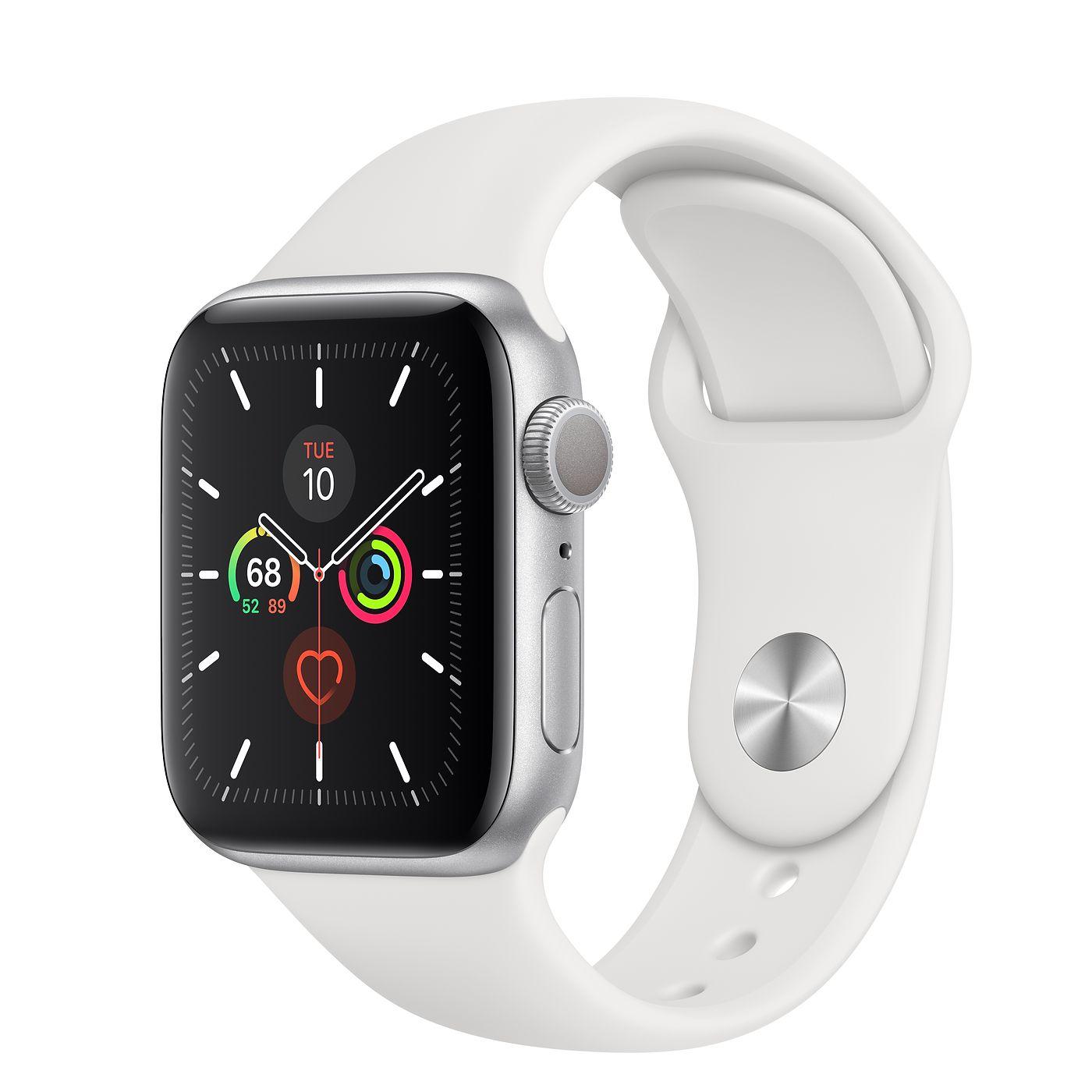 ساعت هوشمند اپل واچ سری ۵ مدل ۴۰mm Aluminum Case With Sport Band