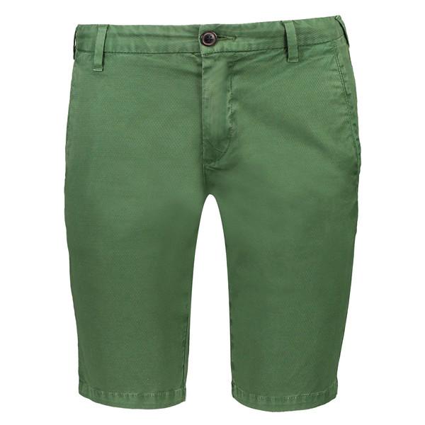 شلوارک نخی طرح دار مردانه James - پپه جینز
