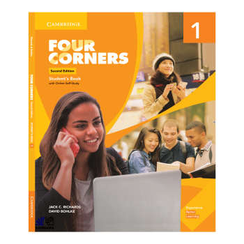کتاب FOUR CORNERS 1 اثر JACK C.RICHARDS AND DAVID BOHLKE انتشارات رهنما