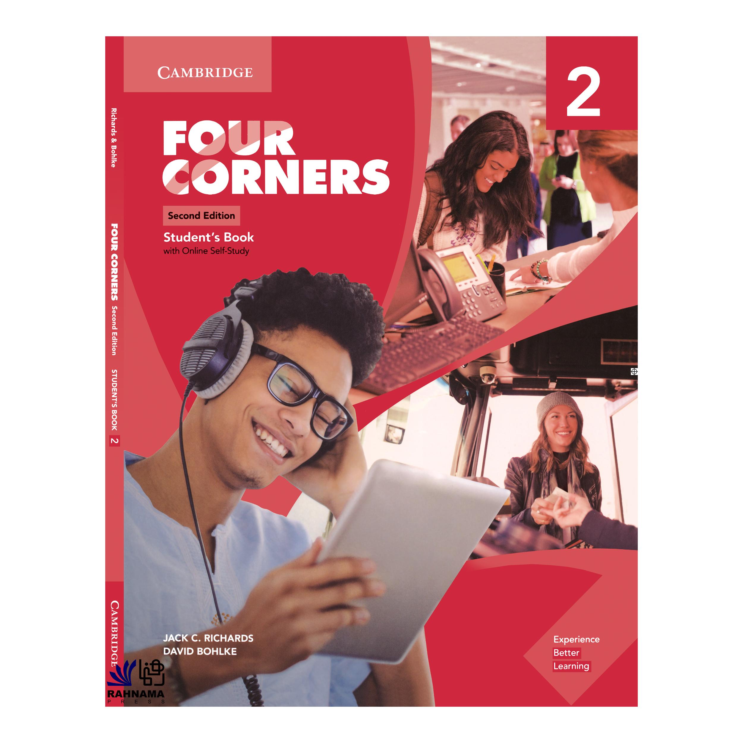خرید                      کتاب FOUR CORNERS 2 اثر JACK C.RICHARDS AND DAVID BOHLKE انتشارات رهنما