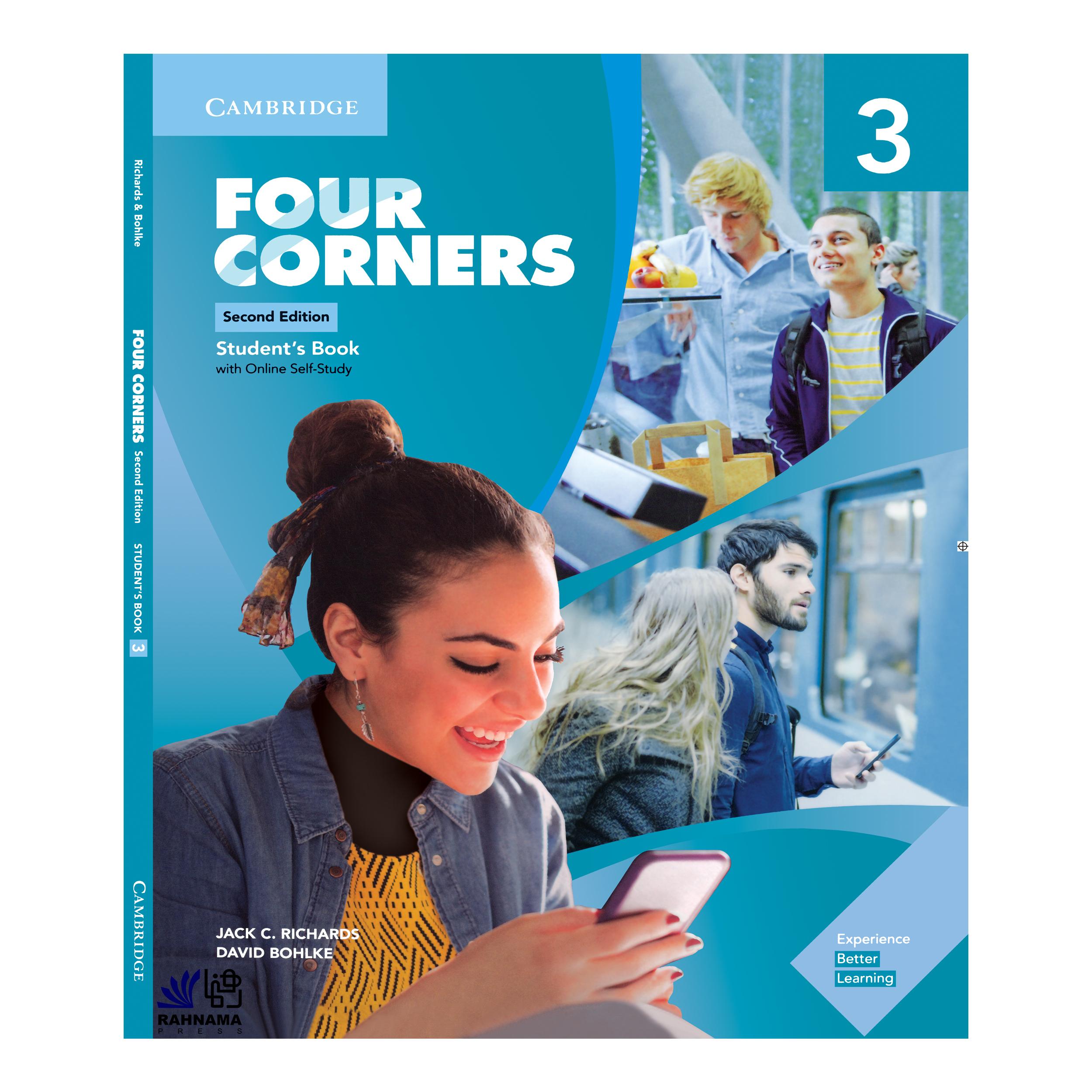 خرید                      کتاب FOUR CORNERS 3 اثر JACK C.RICHARDS AND DAVID BOHLKE انتشارات رهنما
