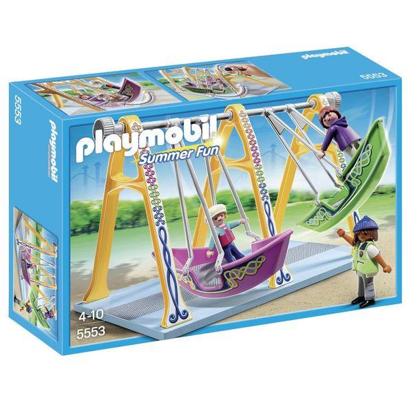 ساختنی پلی موبیل مدل Boat Swings 5553