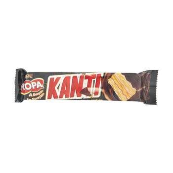 ویفر کاراملی با روکش شکلات تلخ کوپا - 37 گرم