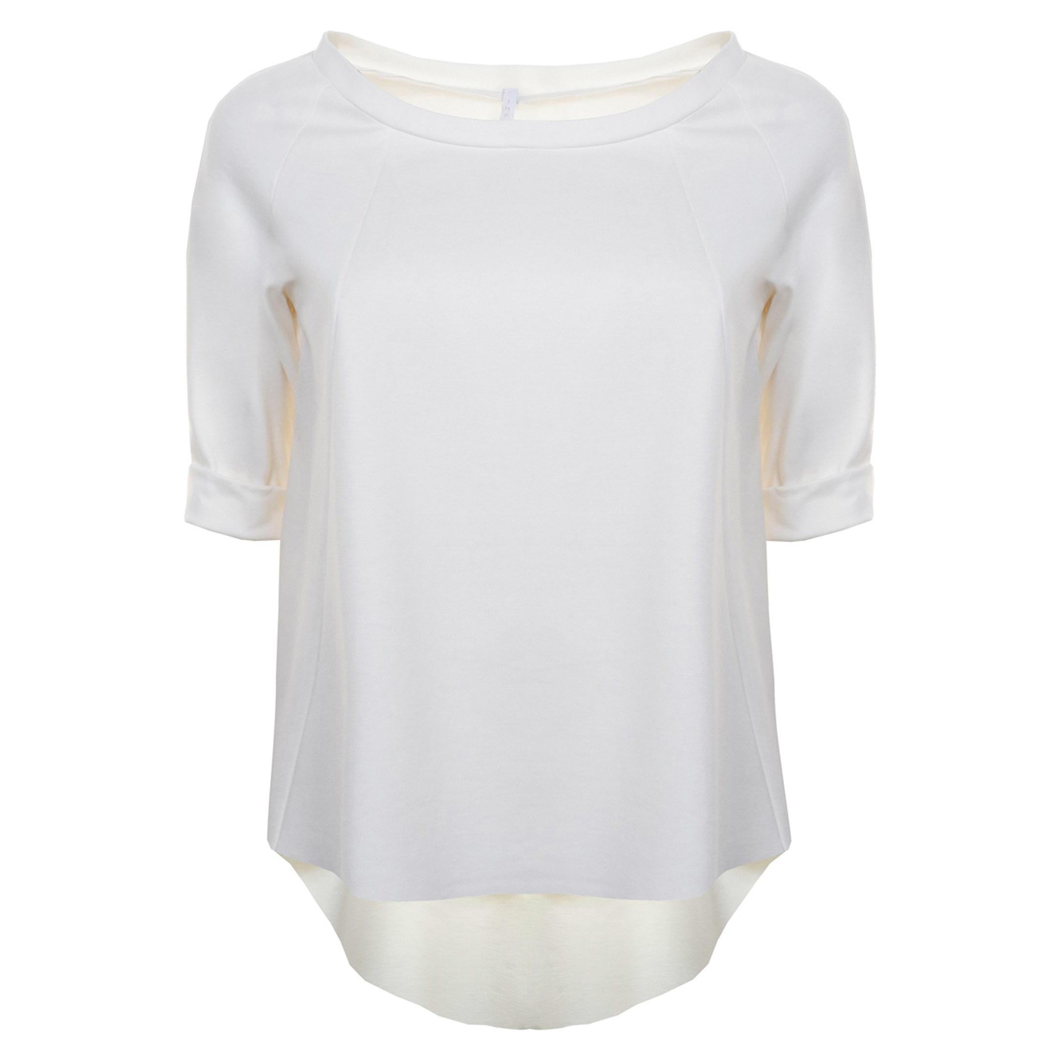 تی شرت ویسکوز یقه گرد نه - امپریال