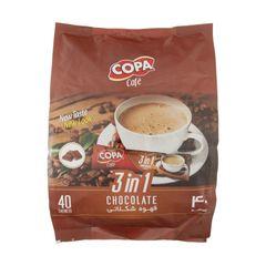 قهوه شکلاتی 3 در 1 کوپا بسته 40 عددی