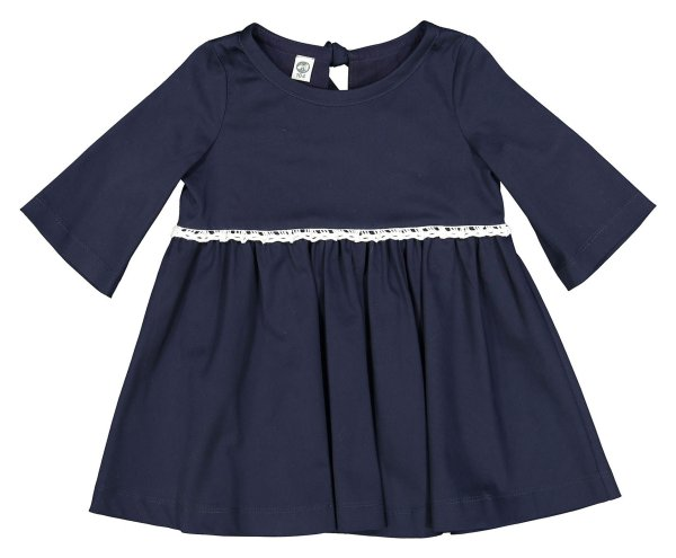 پیراهن نخی روزمره دخترانه رعنا - دایان