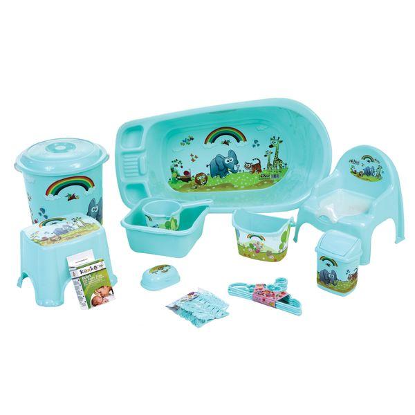 وان حمام کودک رزگلد مدل Set-801 مجموعه 12 عددی