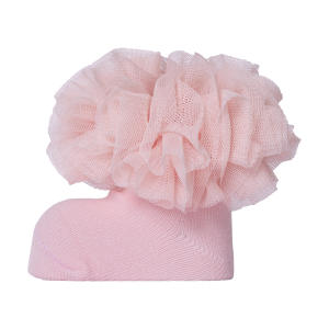 جوراب نوزادی دخترانه کد 2001-3