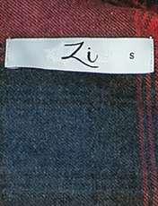 پیراهن نخی آستین بلند مردانه - زی - سرمه اي و طوسي - 6