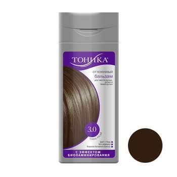 شامپو رنگ مو تونیکا شماره 3.0 حجم 150 میلی لیتر رنگ قهوه ای تیره