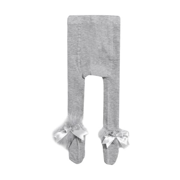 جوراب شلواری نوزادی دخترانه فیورلا کد 2002-2