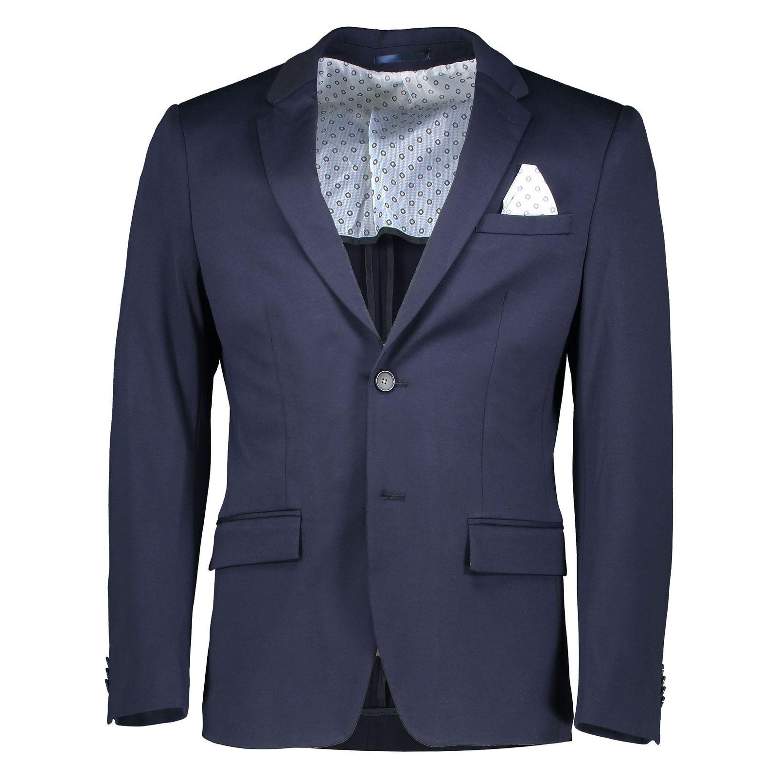 کت تک رسمی مردانه - یوپیم - سرمه اي - 1