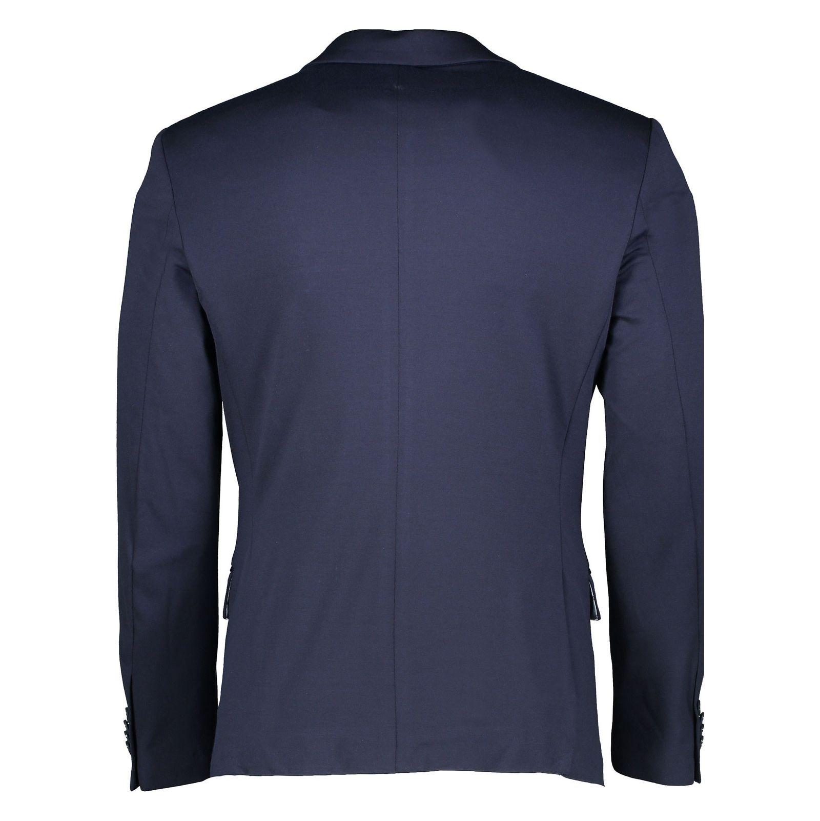 کت تک رسمی مردانه - یوپیم - سرمه اي - 2