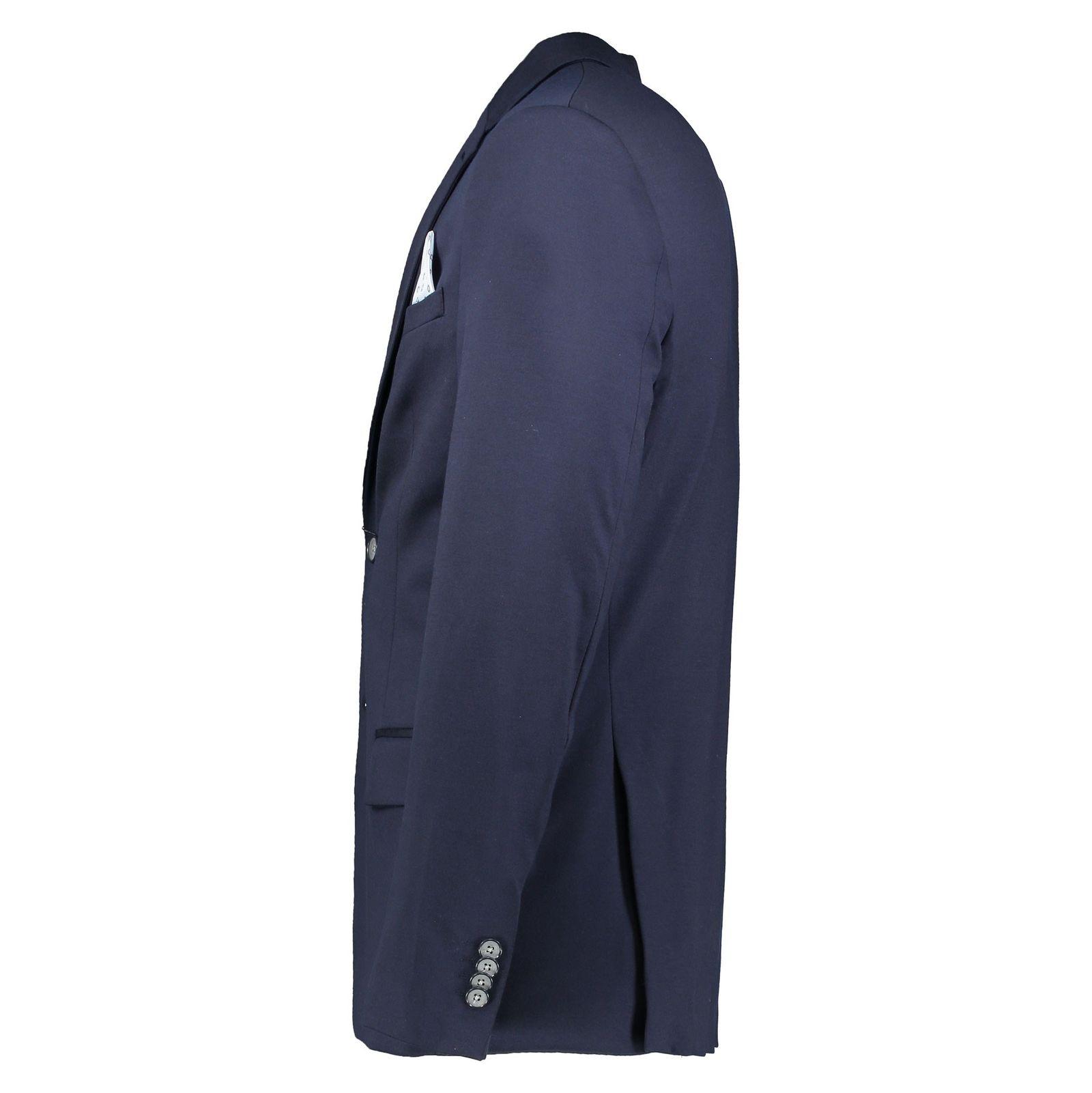 کت تک رسمی مردانه - یوپیم - سرمه اي - 3