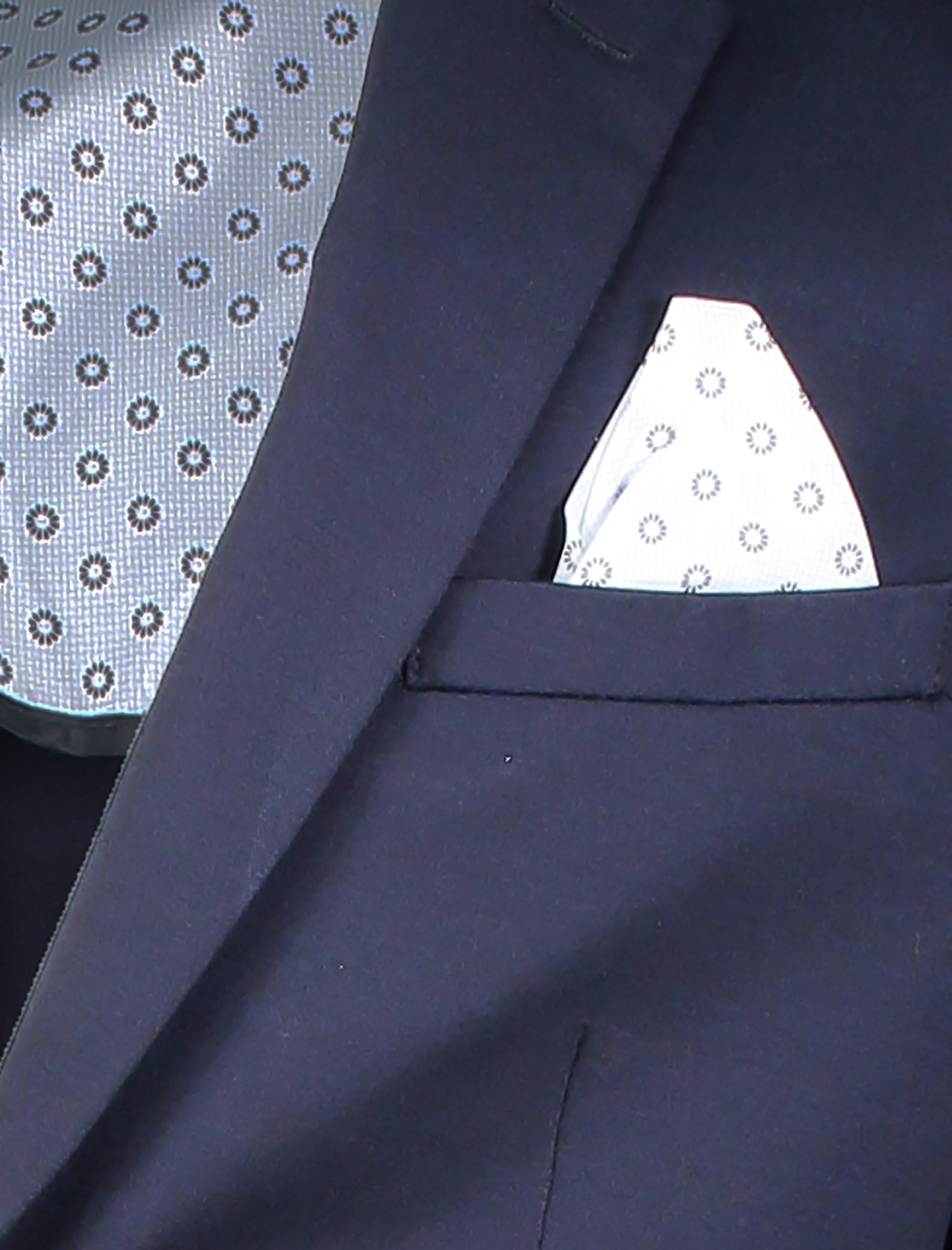 کت تک رسمی مردانه - یوپیم - سرمه اي - 4