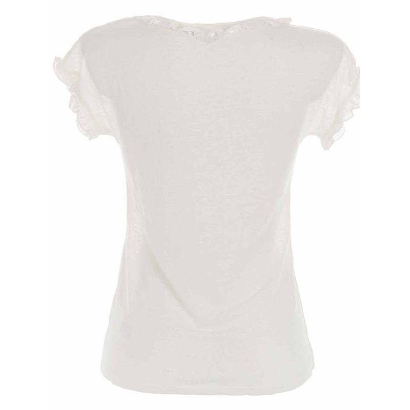 تی شرت یقه هفت زنانه - نف نف